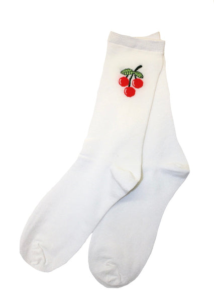 Sweet Cherry Sock