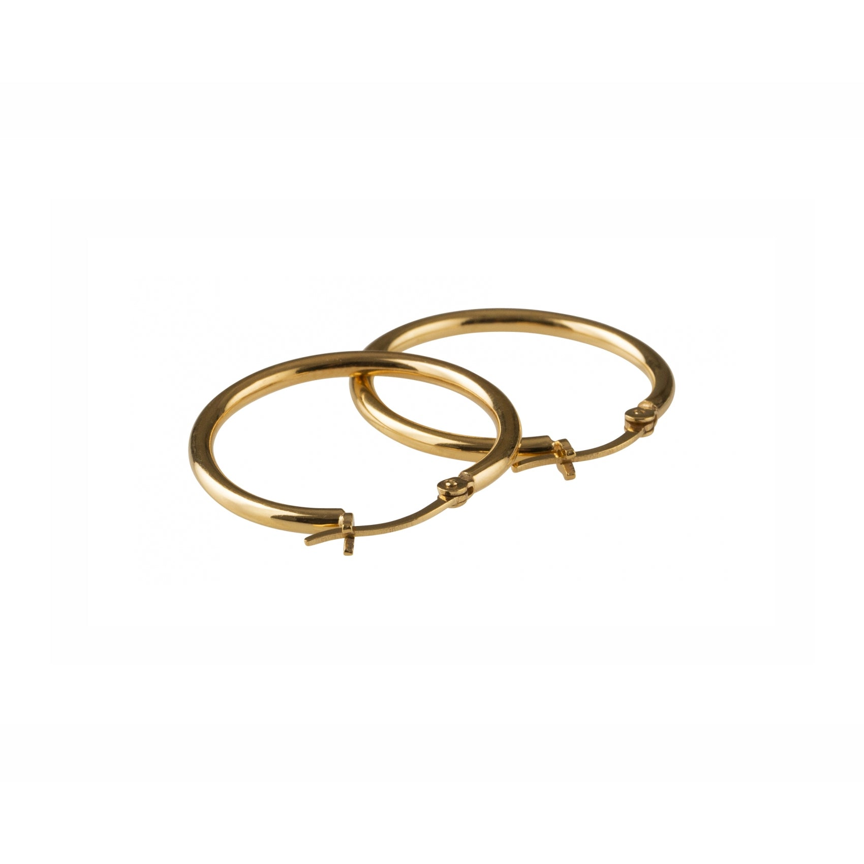 Basic Large Hoop - Gold