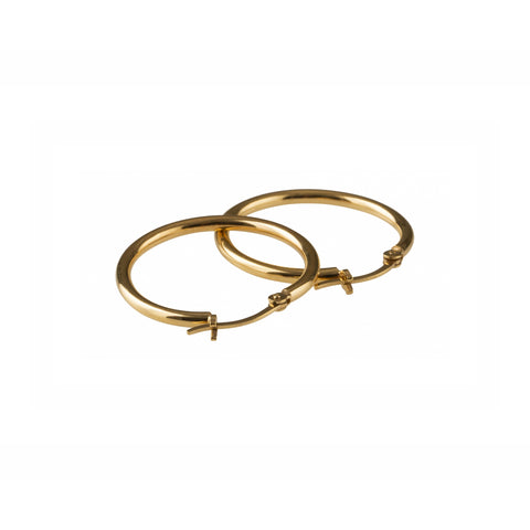 Basic Large Hoops