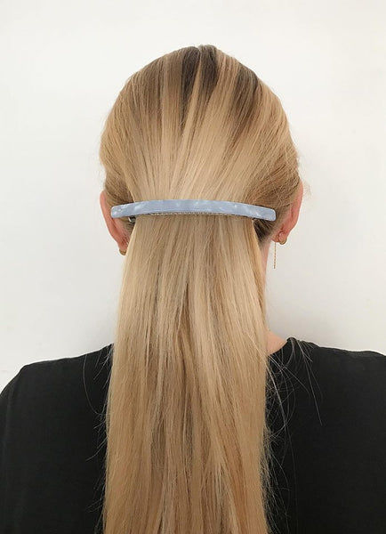 PICO Frenchie Hair Clip Shown on Model