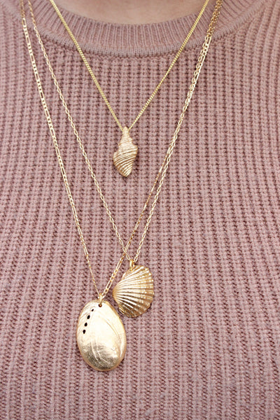 Heart Shell Necklace