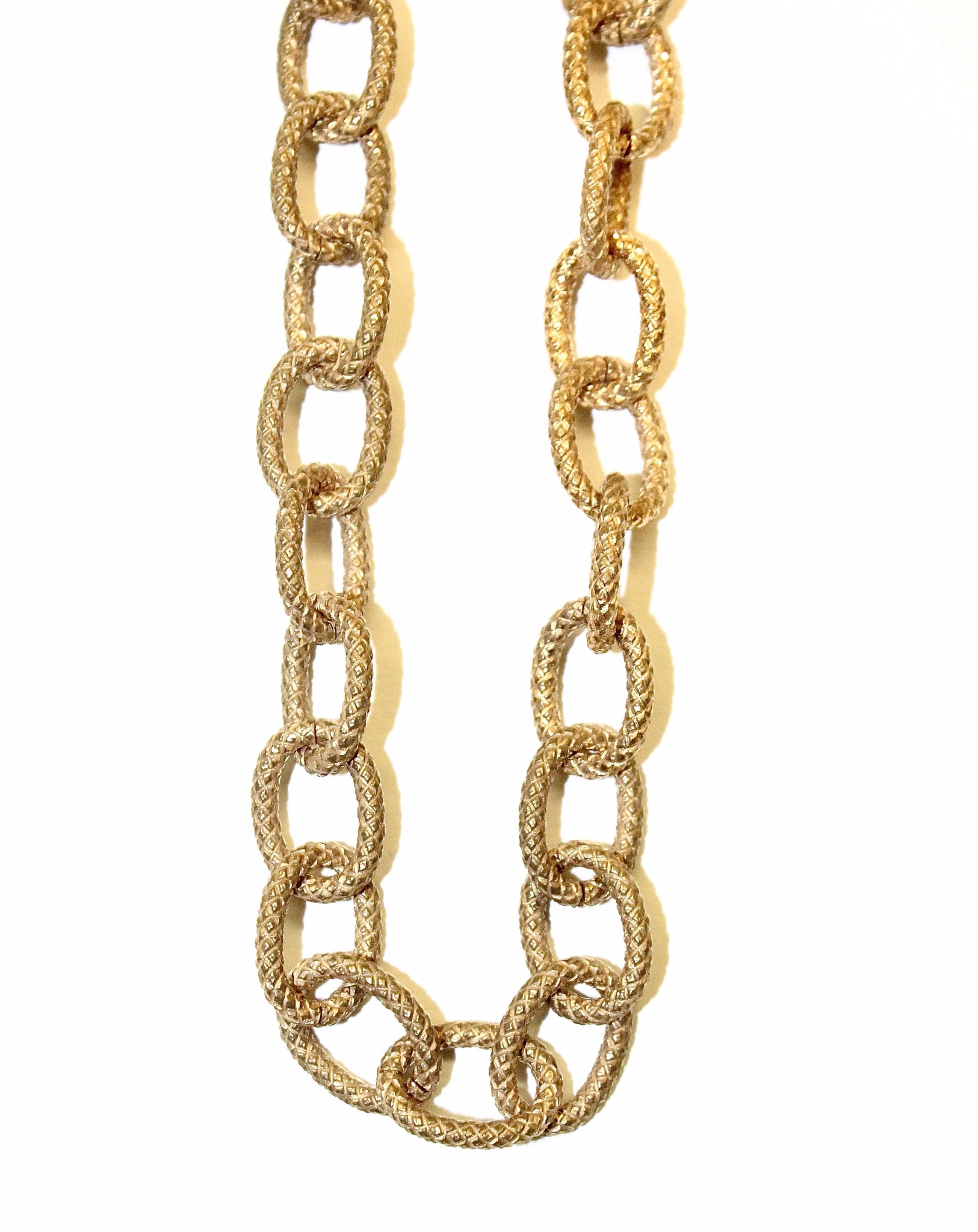 Dua Necklace - Antique Gold