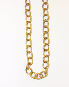 Coco Necklace - Antique Gold