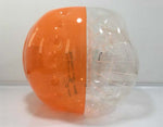 Bubble foot, Soccer Ball, Bumper Ball, foot en bulle, bulle-gonflable, fenêtre orange