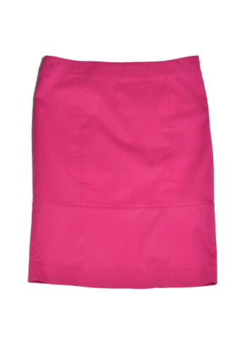 ARMANI Jeans Hot Pink Pencil Skirt in Size 10