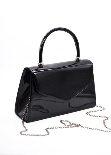 Patent Mini Bag in Black