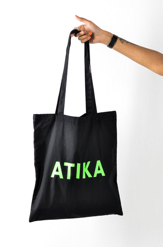 ATIKA Tote Bag in Green