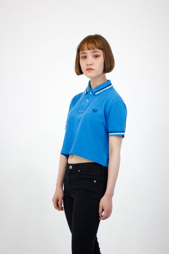 REMIX Fred Perry Crop Polo Tee