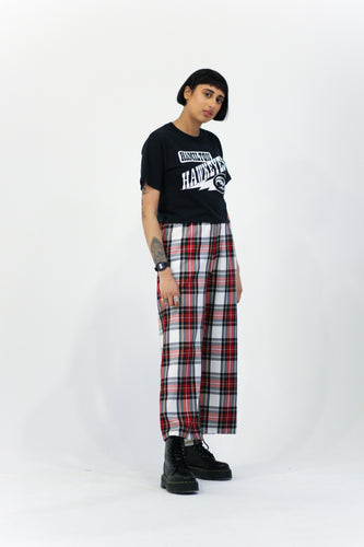 Remnant Red Tartan Trousers