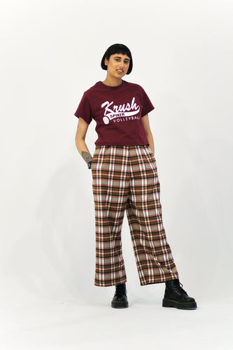 Remnant Brown Tartan Trousers