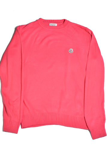 MONCLER Hot Pink Jumper in Size Large