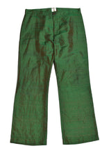 MOSCHINO Jeans Textured Silk Trousers in Size 12