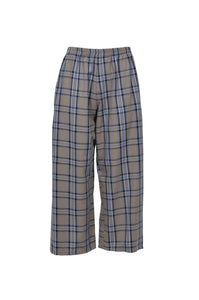 REMIX Remnant Check Trousers