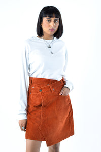 LEVI's Cord Wrap Skirt in Size Medium