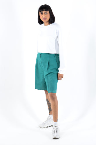 Jade Green Culottes in Size 16