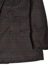 Yves Saint Laurent Check Blazer in Size Large