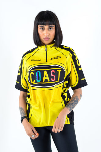Short Sleeve Cycle Jersey in Size Large