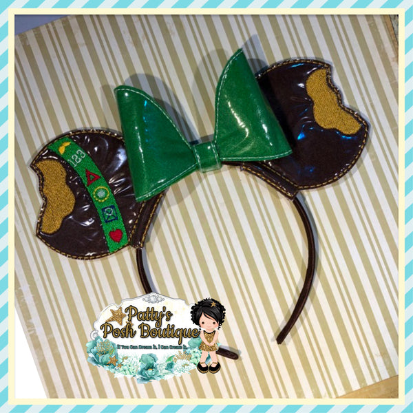 Peanut Butter Cookies Themed Character Mouse Ears
