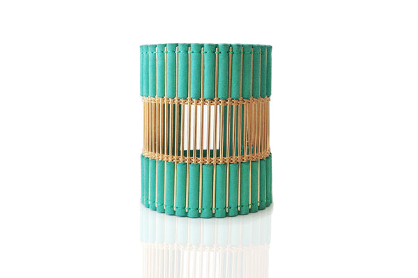 Ballure Cuff Turquoise and Gold