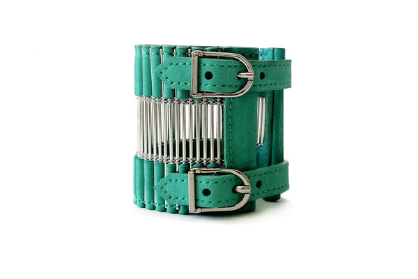 Ballure Cuff Turquoise and Silver