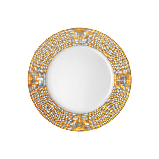 "Dinner Plate ""Mosaique au 24 Gold"" - Hermes"