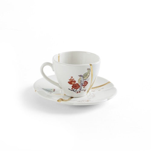 "Coffee Cup and Saucer ""Kintsugi"" - Seletti"