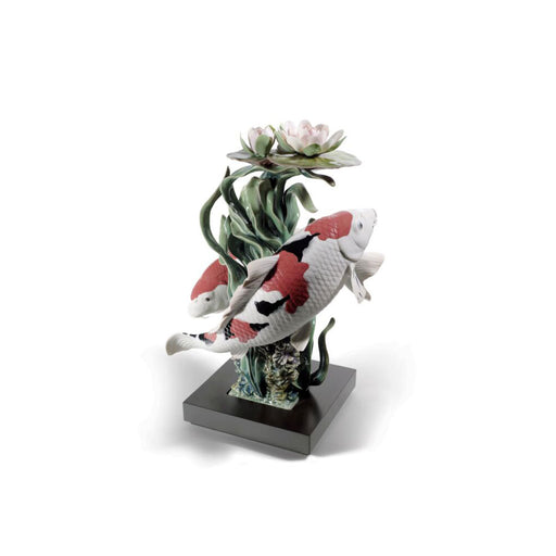 "Sculpture ""Koi Fish"" - Lladro"