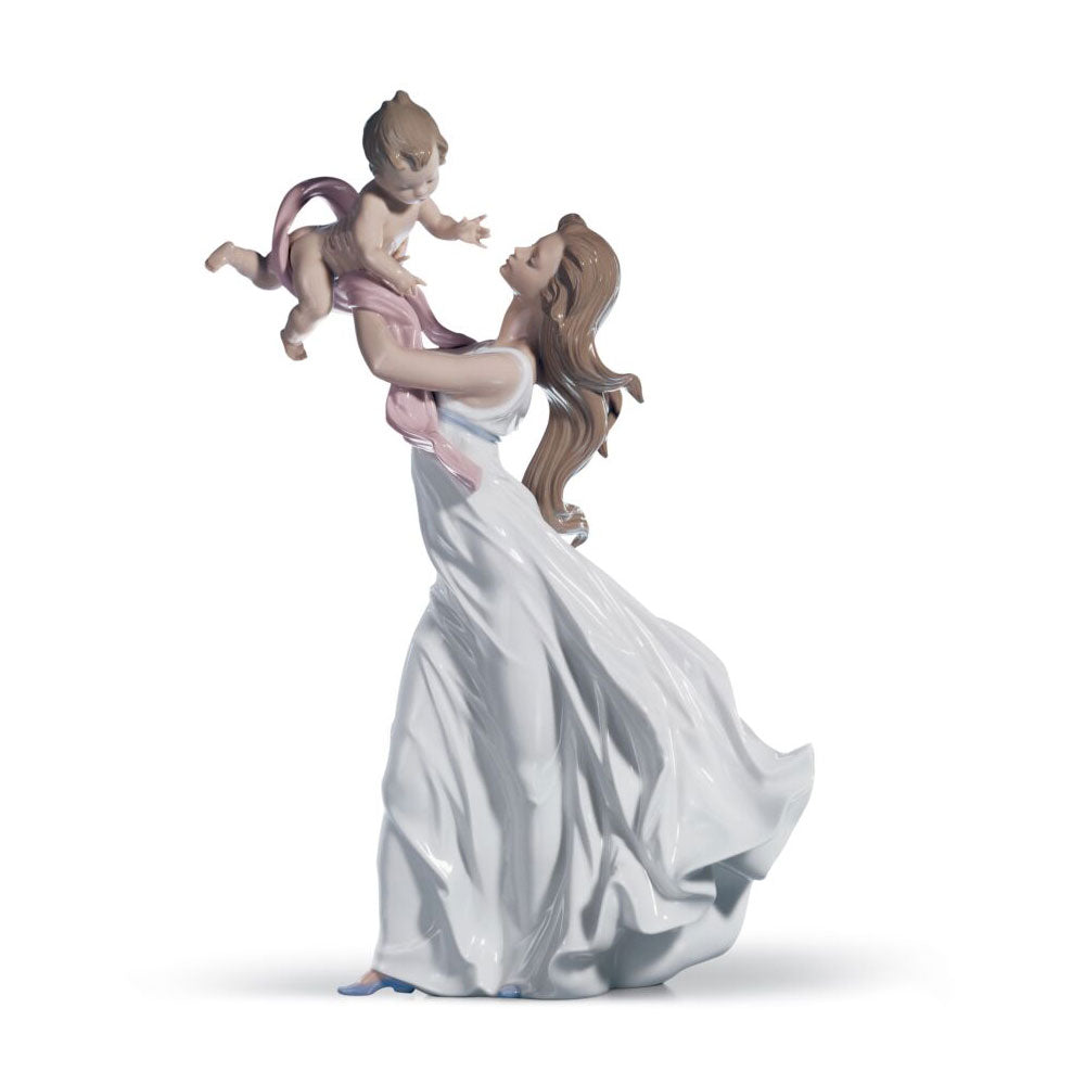 "Sculpture ""My Little Sweetie Mother"" - Lladro"