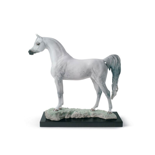 "Sculpture ""Arabian Pure Breed Horse"" - Lladro"
