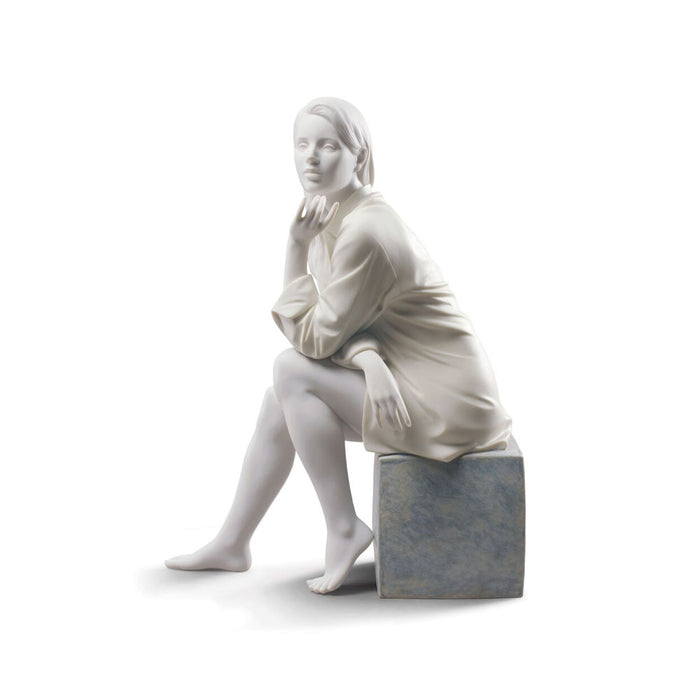 "Sculpture ""In My Thoughts"" - Lladro"