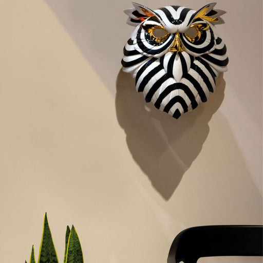 "Sculpture ""Owl Mask"" - Lladro"