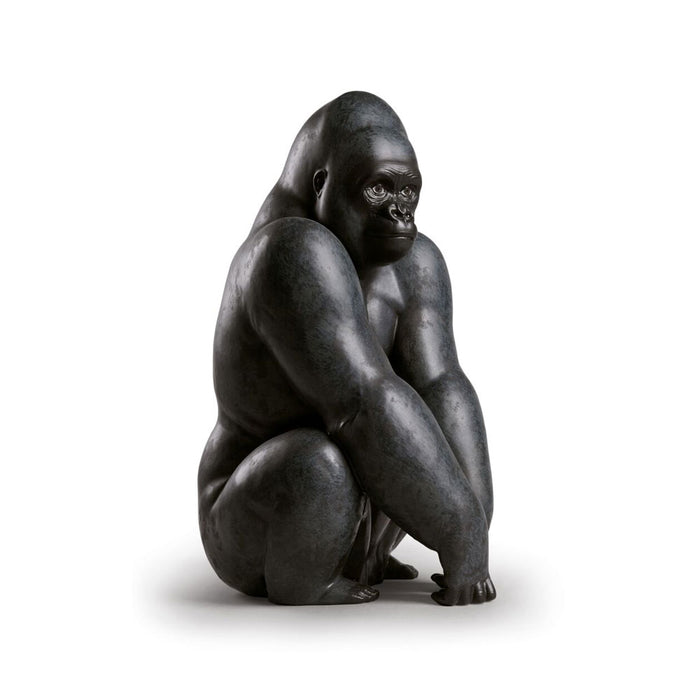 "Sculpture ""Black Gorilla"" - Lladro"