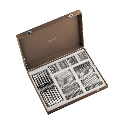 "48-Piece Solid Silver Set ""Albi"" - Christofle"