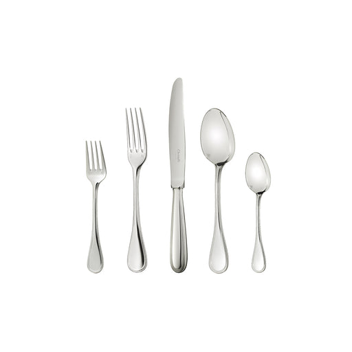 "30-Piece Sterling Silver Set ""Pearls"" - Christofle"