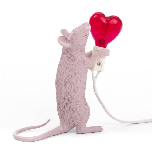 "Lamp ""The Mouse Lamp"" Love Edition - Seletti"