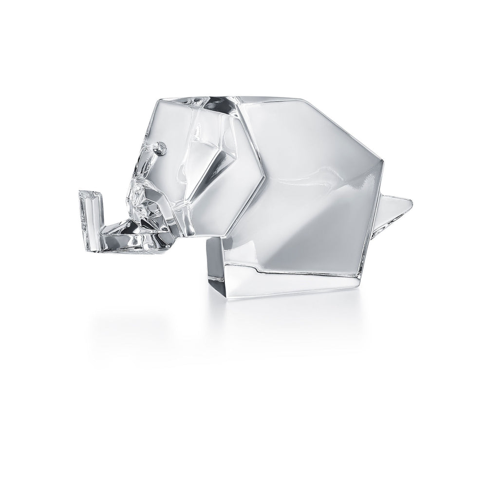 "Sculpture ""Origami Elephant"" - Baccarat"