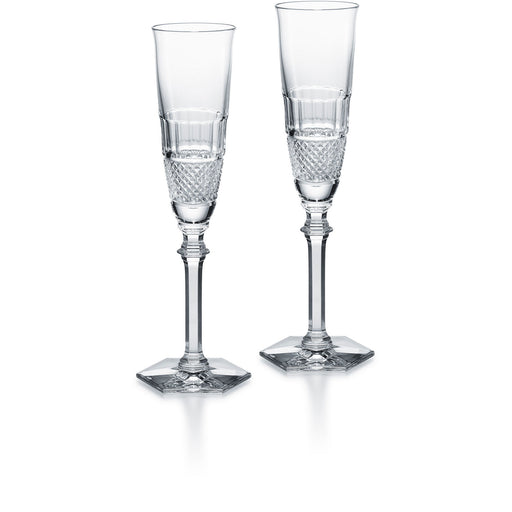 "Champagne Glass (Set x2) ""Diamant"" - Baccarat"