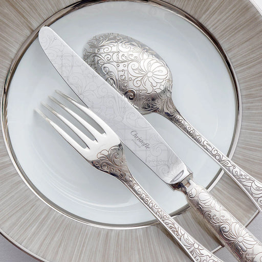 "Dinner Fork ""Jardin d'Eden"" - Christofle"