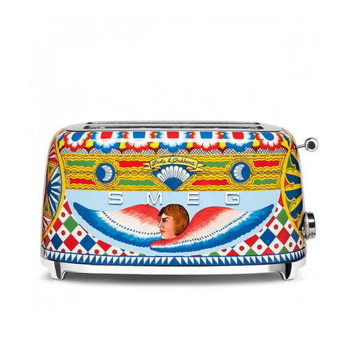 "Four Slice Toaster ""Sicily is My Love"" by Dolce & Gabbana - Smeg"