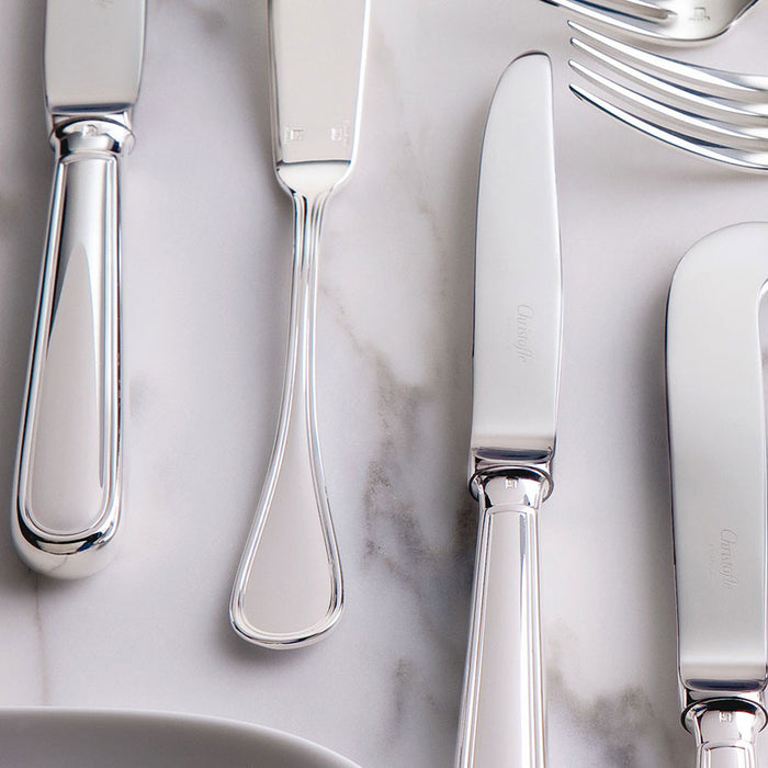 "Stainless Steel 30 Piece Set for 6 People ""Albi"" - Christofle"
