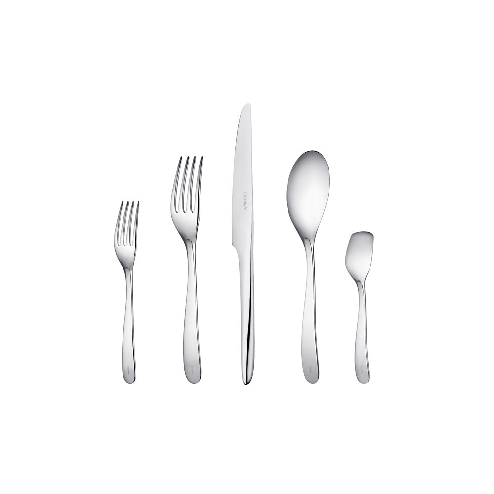 "5-Piece Set Classic Stainless Steel ""L'Ame de Christofle"" - Christofle"