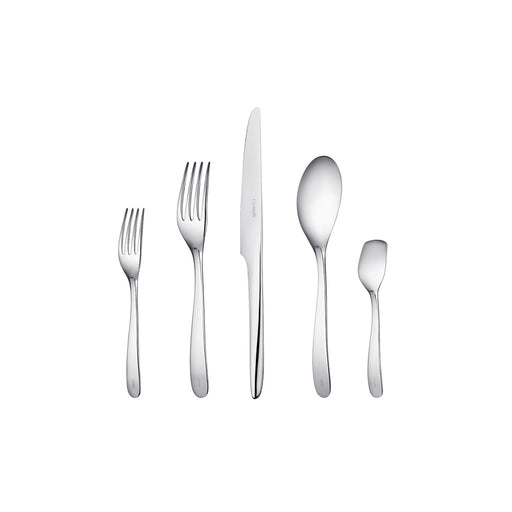 "Stainless steel Five-Piece Place Setting For One ""L'Ame de Christofle"" - Christofle"