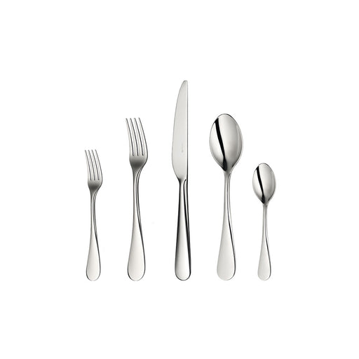 "Stainless Steel Mirror Finish Five-Piece Place Setting ""Origine"" - Christofle"