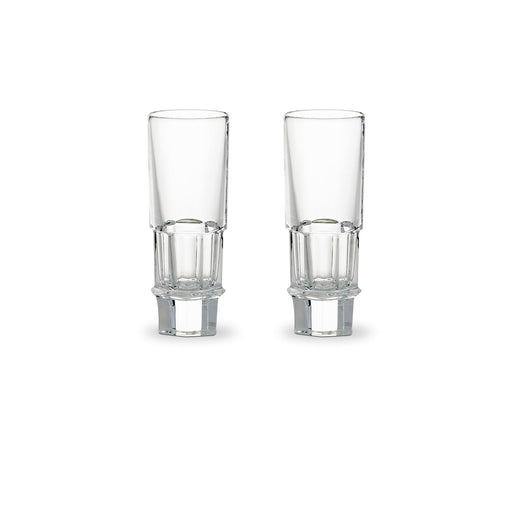 "Vodka Glass Set x2 ""Harcourt Abysse"" - Baccarat"