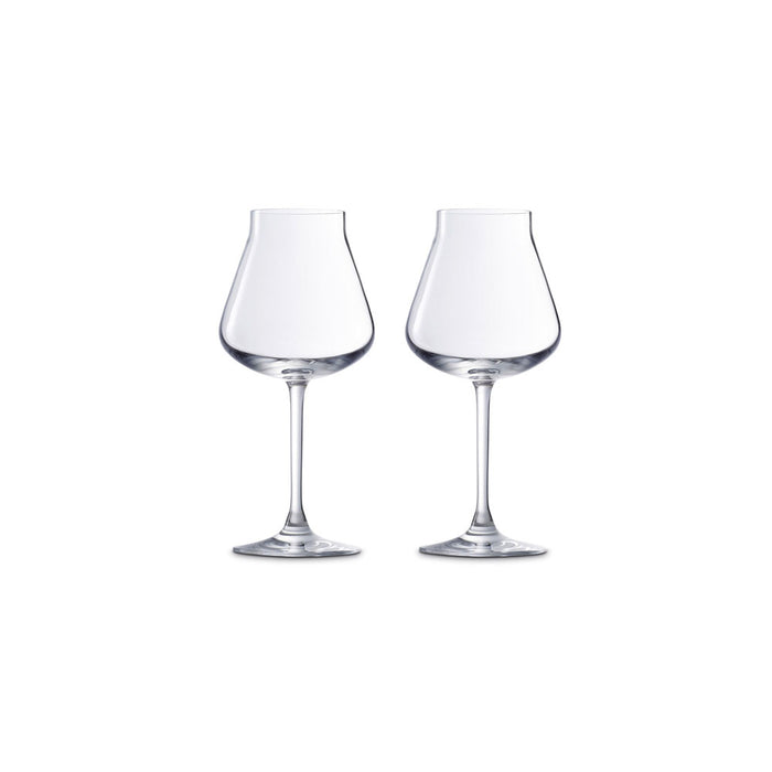 "White Wine Glass Set x2 ""Chateau Baccarat"" - Baccarat"
