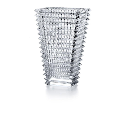 "Large Rectangular Vase ""Eye"" - Baccarat"