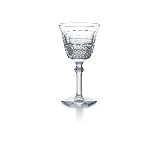 "Red Wine Glass ""Diamant"" - Baccarat"