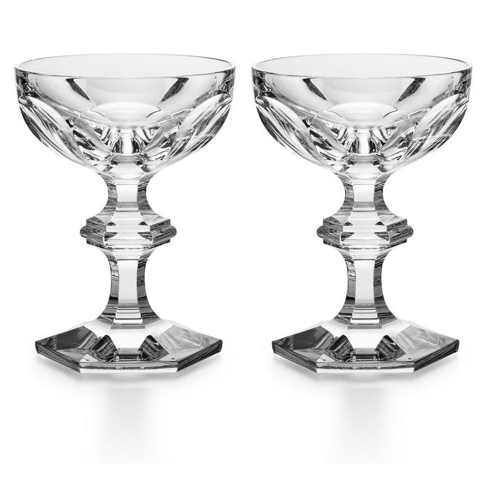 "Champagne Coupe (Set x2) ""Harcourt 1841"" - Baccarat"