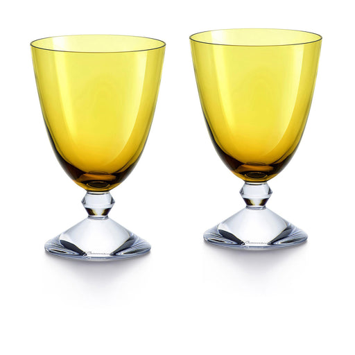 "Small Glass Set x2 ""Vega"" - Baccarat"