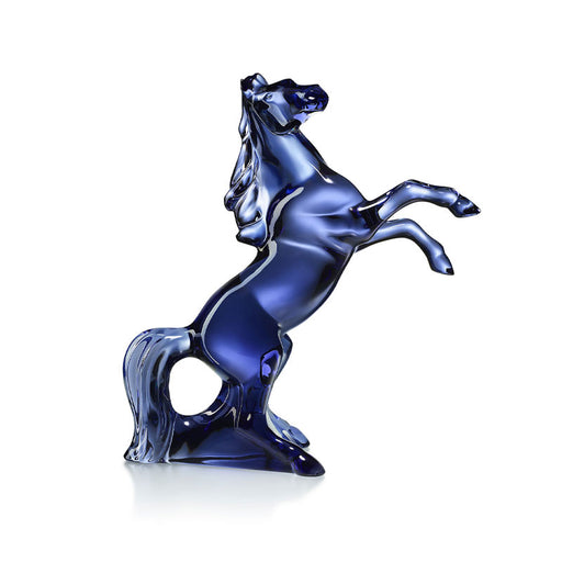 "Sculpture ""Marengo Midnight Horse"" - Baccarat"